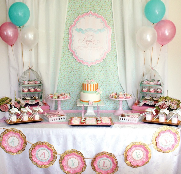 Baptism And Christening Parties We Love!