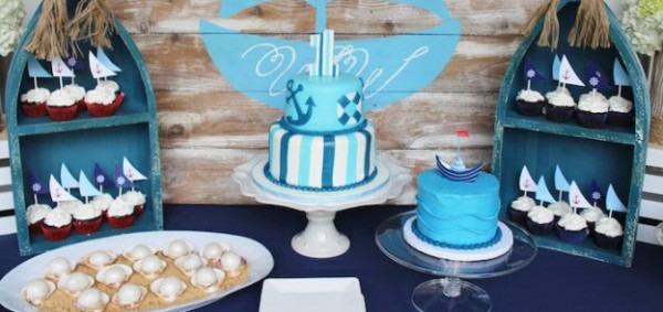 Boat Themed Birthday Party Karas Party Ideas Nautical Boat
