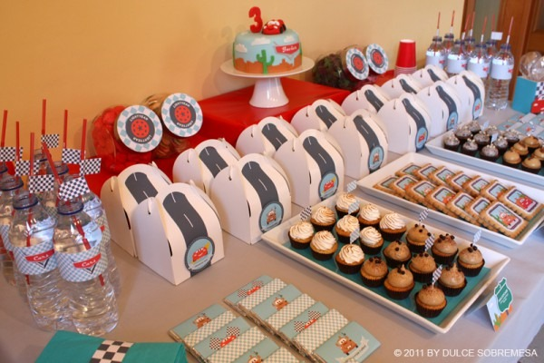 Karas Party Ideas Disney Pixars Cars 3rd Birthday