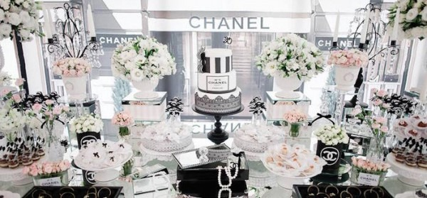 Kara's Party Ideas Chanel Inspired 30th Birthday Party