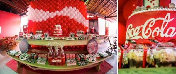 Kara's Party Ideas Coca Cola Themed Tween Party {decor, Cake