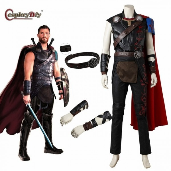 Cosplaydiy Thor  Ragnarok Odinson Cosplay Thor Costume Adult Men