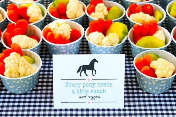 Pony Themed Birthday Party With Such Cute Ideas Via Kara's Party