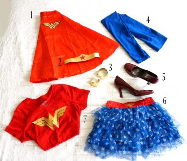 Diy Wonder Woman Inspired Costume