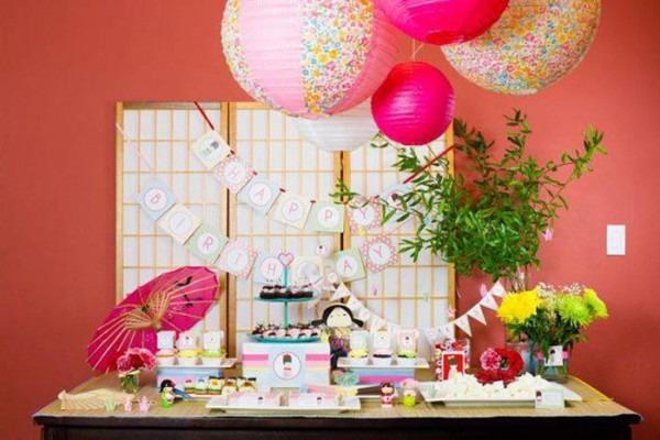 Kara's Party Ideas Japanese Kokeshi Doll Party Planning Ideas