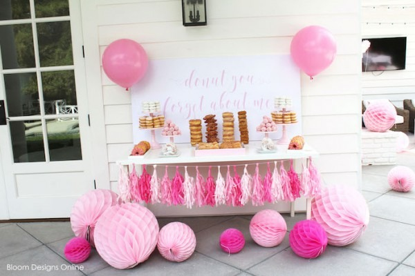 Kara's Party Ideas Donut Forget About Me Graduation Party