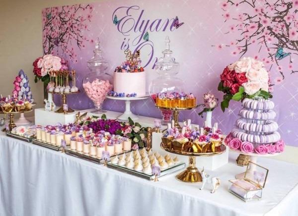 Kara's Party Ideas Enchanted Garden Birthday Party