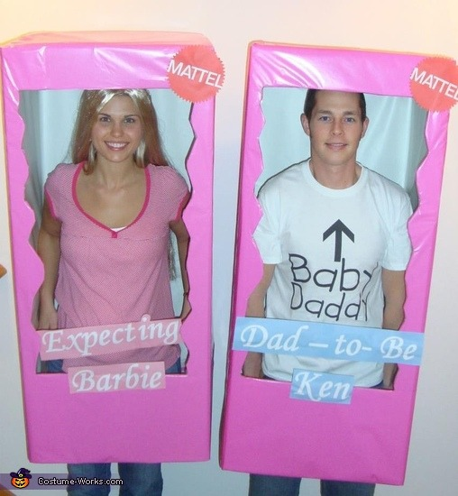 Expecting Barbie And Daddy