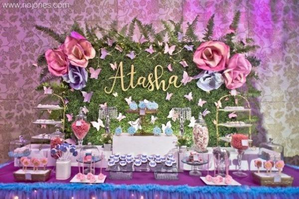 Atasha's Enchanted Garden Themed Party