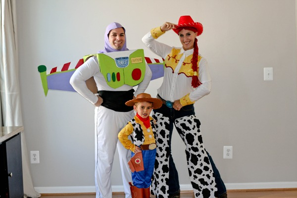 Diy Family Toy Story Costumes Mama Say What !