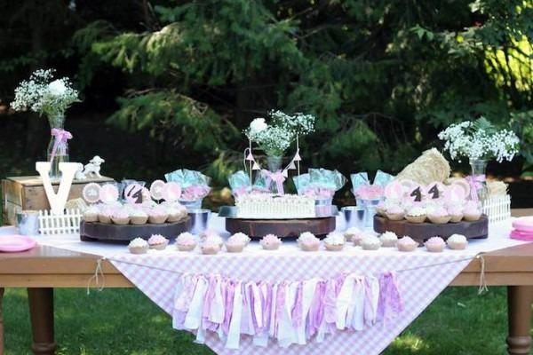 Kara's Party Ideas Farm Girl Themed Birthday Party {decor, Planing