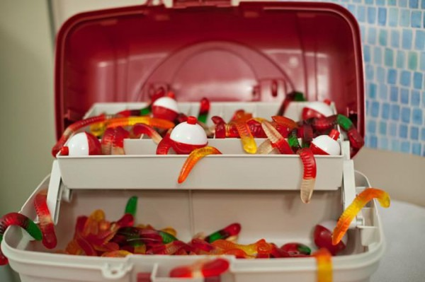 Kara's Party Ideas Goldfish Fishing 1st Birthday Party Planning