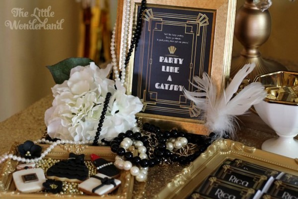 Kara's Party Ideas Great Gatsby Birthday Party