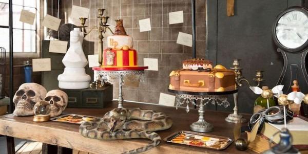 Kara's Party Ideas Hogwarts Harry Potter Birthday Party