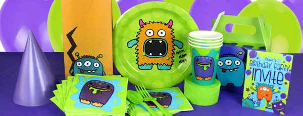 Monster Madness Party Supplies