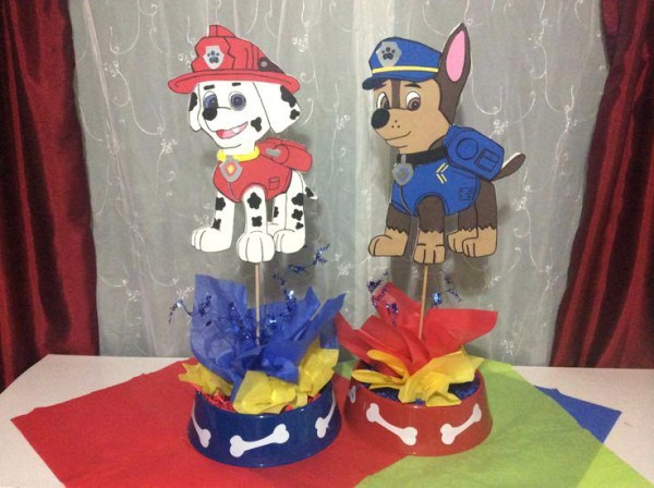 Wondrous Paw Patrol Centerpieces Diy Download Free Architecture Designs Scobabritishbridgeorg