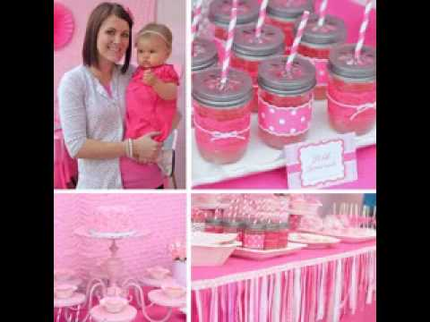 Diy First Birthday Party Themes For Girls