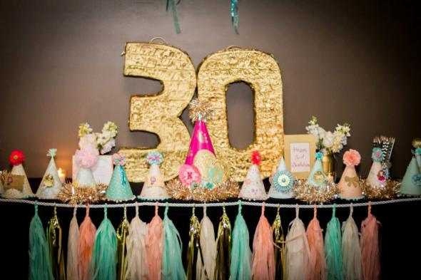 Ideas For Your 30th Birthday Celebration