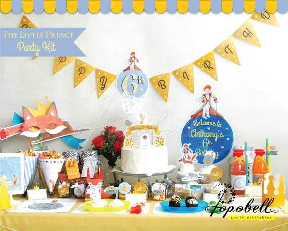 The Little Prince Party Kit Printables  Complete Set The