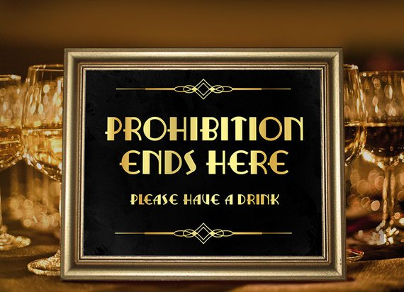Great Gatsby Party Decorations  Party Supplies  Prohibition