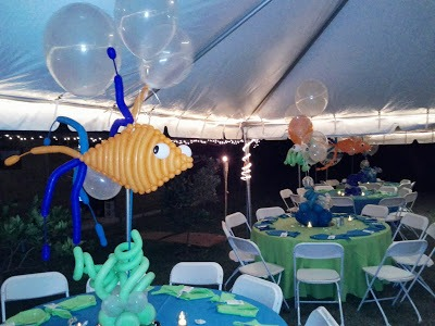Dreamark Events Blog  Under The Ocean Themed Event  Outdoor Party
