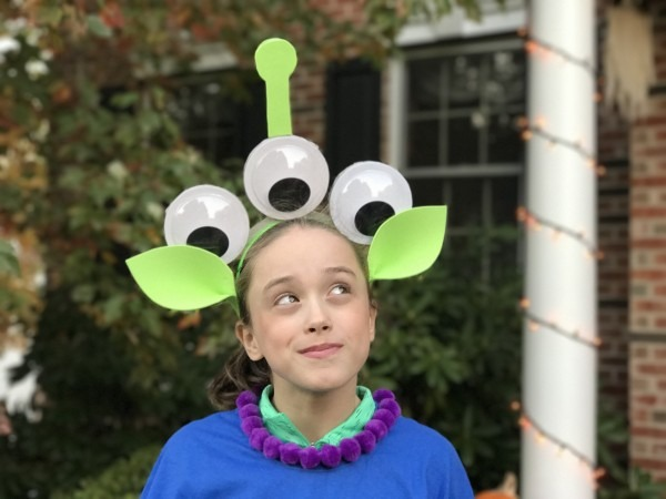 How To Make A Diy Toy Story Alien Costume  Toystoryland