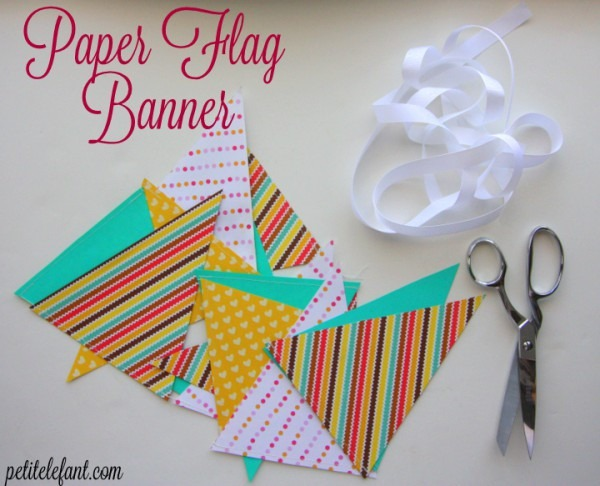 How To Paper Flag Banner