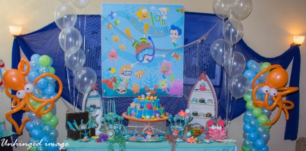 How To Plan Under The Sea Themed Birthday Party Ideas