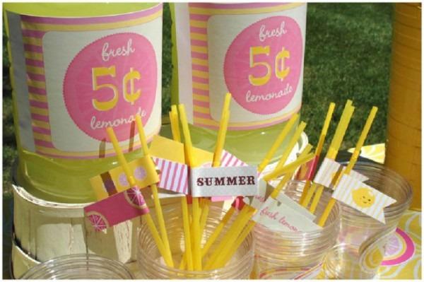 Pink Lemonade Summer Party