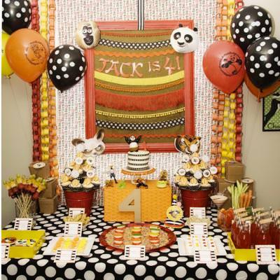 Kung Fu Panda {kids Birthday Party} – Tip Junkie