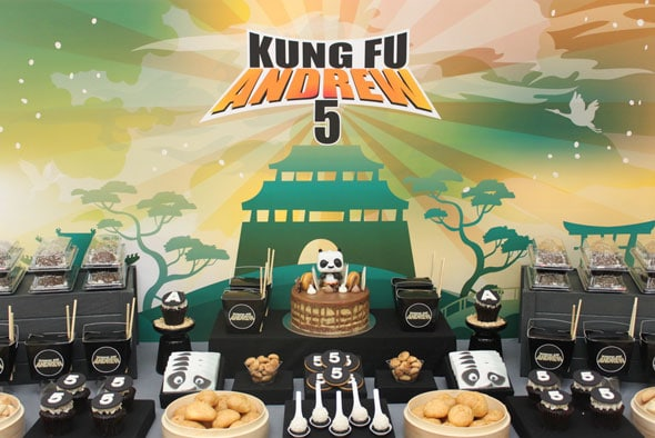 Kung Fu Panda Birthday Party