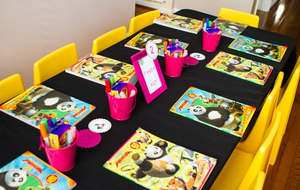 Pink & Green Kung Fu Panda Birthday Party    Hostess With The Mostess®