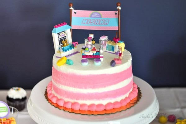 Lego Friends Themed Birthday Party