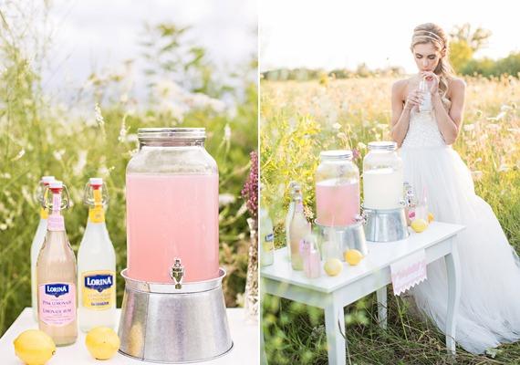Summer Lemonade Stand Wedding Inspiration