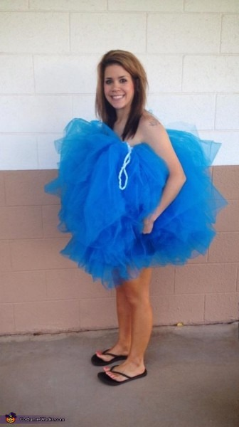 Diy Loofah Costume