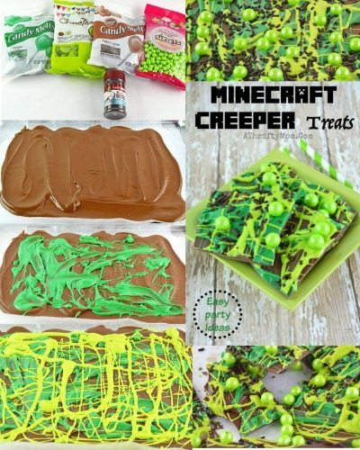 Minecraft Party Ideas, Birthday Party Recipes For A Minecraft