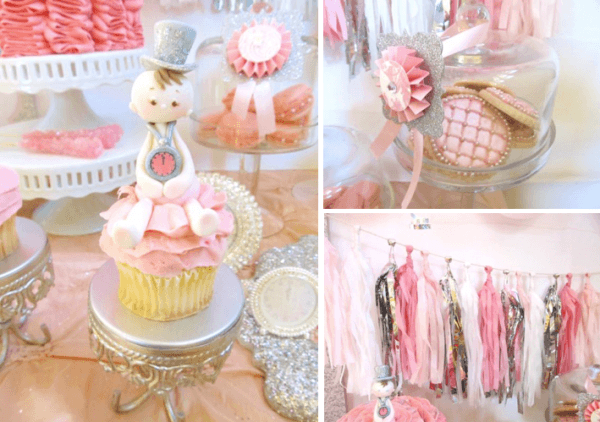 Kara's Party Ideas New Year's Eve Boy Girl Glittery Glam Baby