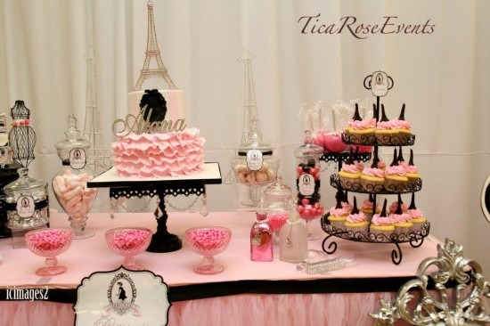 Ohh Lala It's A Girl Paris Baby Shower