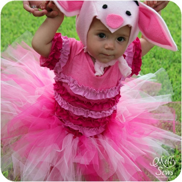 Handmade Costume Series  Diy Piglet Costume Tutorial & Free