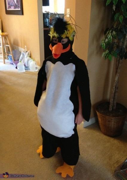 Diy Rock Hopper Penguin Costume