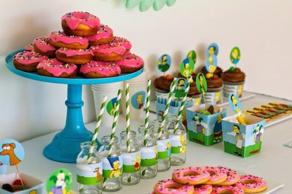 Kara's Party Ideas The Simpsons Themed Birthday Party {ideas