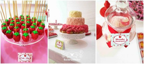 Kara's Party Ideas Strawberry Birthday Party Ideas Supplies Berry