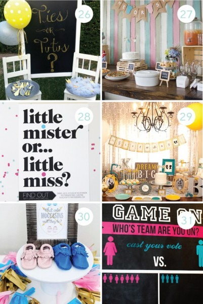 100 Gender Reveal Ideas