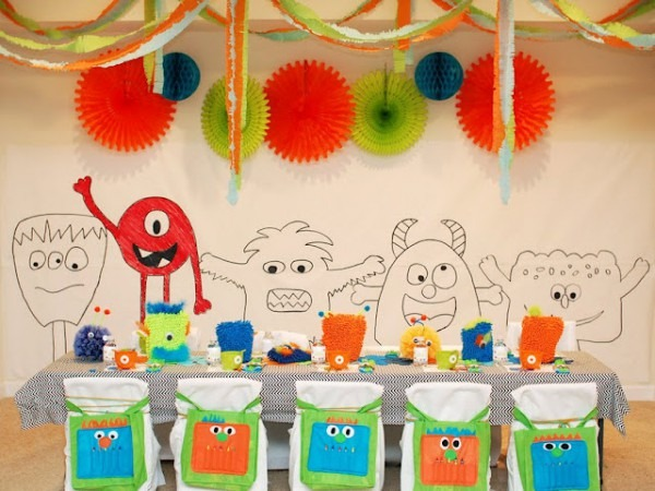 Little Monster Birthday Party {guest Feature}