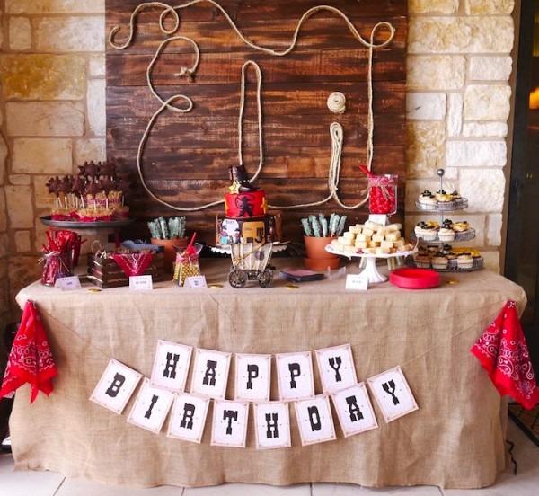 Kara's Party Ideas Wild West Birthday Party