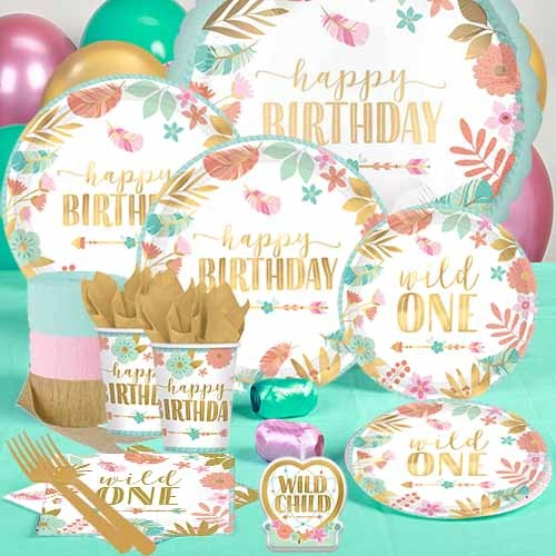Wild One Boho Birthday Party Supplies Party Supplies Canada