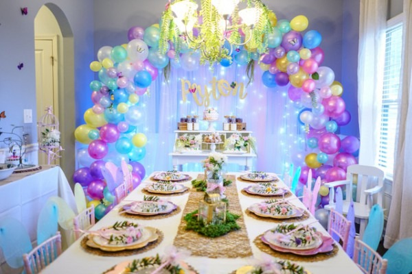 Birthday Parties  Peyton's Enchanted Garden – The B Collective