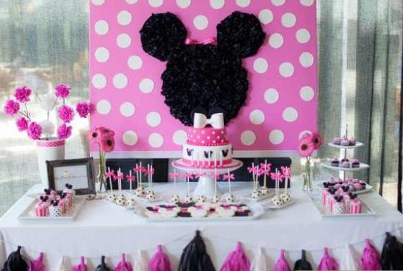 Like The Table Setup  Minnie Mouse Dessert Table, Found On