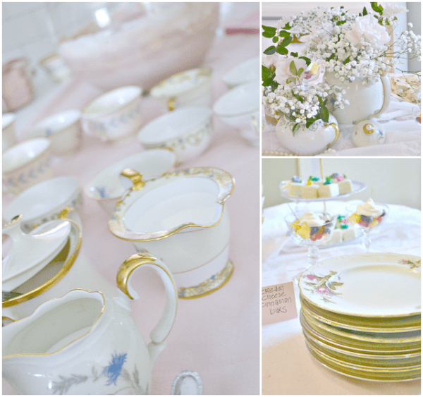 Southern Chic Tea Party Themed Baby Shower