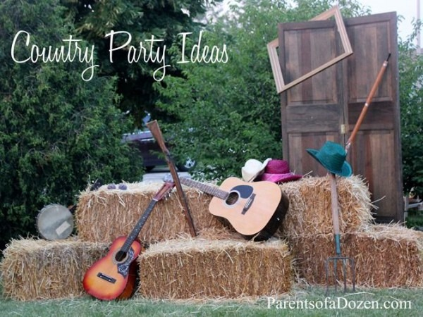 Several Country Party Ideas, From Decor To Food To Activities